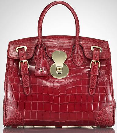 Коллекция сумок от Ralph Lauren, весна-лето 2011.