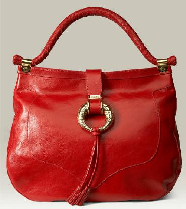 Поясные сумки: малиновая сумка пьер рико.